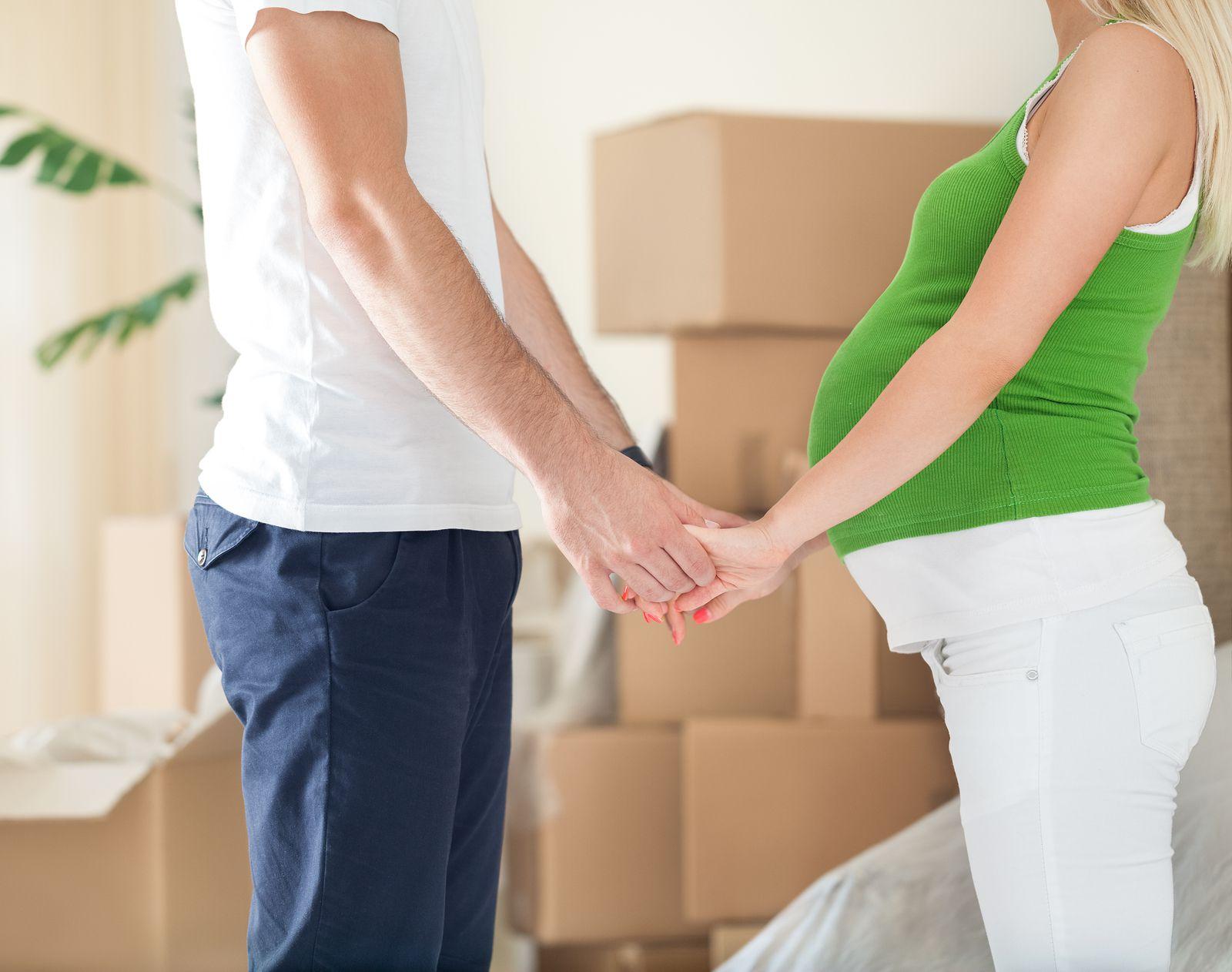 Rent and Drop conseil déménagement femme enceinte