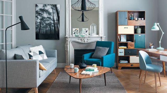 salon cosy moderne